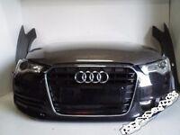 ar part: Front End headlight, Radiator Audi A6 2012 - 2014 4G C7