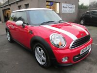 MINI One MINI One- MOT'D 15/12/18, 7 STAMPS, SERVICED, WARRANTIED & AA (red) 2009