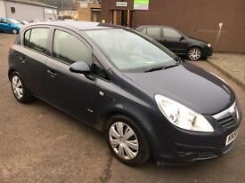 5808 Vauxhall Corsa 1.3CDTi 16v (75ps) EcoFlex Club Blue 5 Door 70331mls