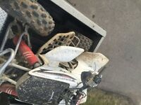 2008 Honda 450r , trade for a sled or 5000$obo