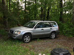 2003 Subaru Forester Wagon....Reduced
