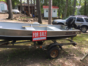 Meyers 12' Aluminum Fishing Boat