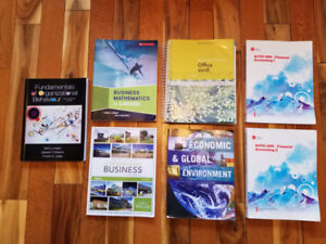 NSCC 1st Year Business Textbooks