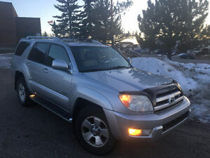 2003 Toyota 4Runner V8 Limited | Remote Start | Fully Loaded!