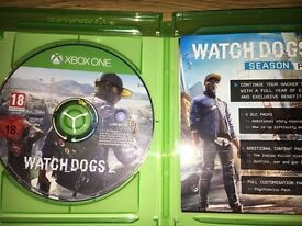 WATCH DOGS 2 XBOX ONE GREAT ONDITION