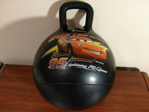 Disney Cars Lightning McQueen Kids Hopper Hedstrom Bouncing Ball