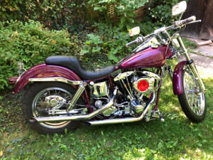 1988 Harley Davidson Shovelhead Wide Glide