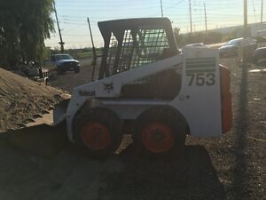 2003 Bobcat 753 Skid Steer (Heated Cab/Low Hrs)