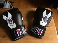 Almost new boxing gloves 12oz (ideal for ladies kick-boxing)