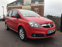 Vauxhall Zafira 1.9CDTI CLUB 120PS (red) 2007