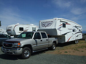 5TH WHEEL AND TRUCK - RV PACKAGE