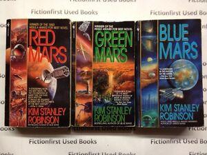 """Mars Trilogy"" by: Kim Stanley Robinson"