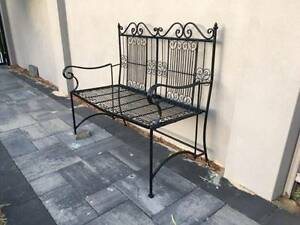 Black Wrought Iron French Garden Chair R$299.00 Dalkeith Nedlands Area Preview