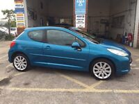 Peugeot 207 GT, 2008, 1.6 diesel, full history, excellent condition, £2495
