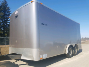Tandem Axle 8x16 Enclosed Cargo Trailer with Ramp door