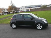 AUGUST 2007 SUZUKI SWIFT VVTS GLX 1.5 PETROL ONLY ONE OWNER 73,000 MILES FULL SERVICE HISTORY