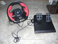 volant et pedale pour jeux pc