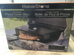 Bakerstone BBQ pizza oven - brand new unopened in the box!