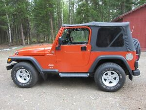 2005 Jeep TJ SUV, Crossover