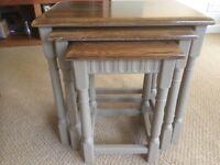 Coffee tables refurbished oak