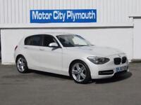 2013 62 BMW 1 SERIES 2.0 116D SPORT 5D 114 BHP DIESEL