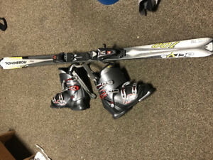 Men's Ski and boot package