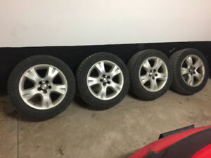 KUMHO I-ZEN WIS (KW19) Winter Tires on Toyota Rims