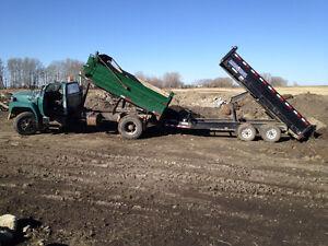 Bobcat and Dump Truck Services (403) 831-0658