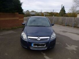 Vauxhall Zafira Excite 2011, 47k Milage, Blue , Good body work and Interior