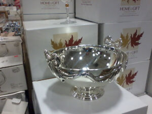Silver   plated presentation bowl ! brand  new in box