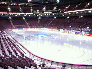 Vancouver Canucks vs  LEAFS Tickets HARD COPIES meet at game