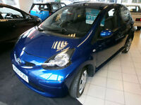 Toyota AYGO 1.0 VVT-i AYGO Blue 1 OWNER ONLY 20000 MILES WITH FULL S/HISTORY