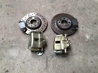 Mg 160 front brakes