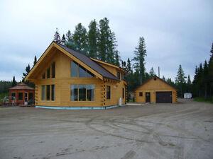 kit de chalet maison pour auto construction en bois Saguenay Saguenay-Lac-Saint-Jean image 3