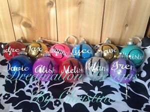 Personalized Christmas Ornaments Peterborough Peterborough Area image 1