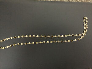 18K GUCCI Link chain brand new