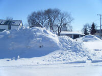 SNOW REMOVAL,for sidewalk&driveways/ home /business&acreages