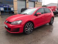 "2015 Volkswagen Golf GTI manual 5k warranty 19"" alloy wheels cat D hence the cheapest in the UK"
