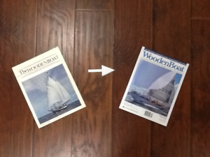Complete Wooden Boat magazine collection
