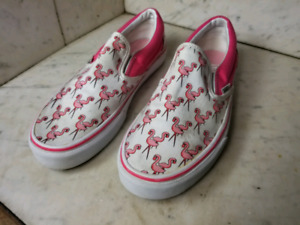 Vans Skateboard Classic Slip-On Flamingo Pink/White Shoes