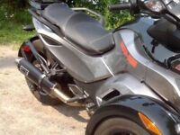 CAN AM SPYDER RSS RS MUFFLER EXAUST PIPE SLIP ON
