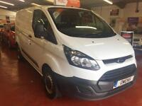 2014 (63) FORD TRANSIT CUSTOM 2.2 310 LR P/V Manual