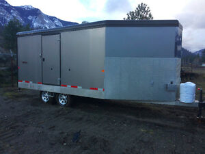 2012 Trails West Snowmobile/ATV Trailer