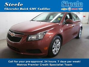 2012 Chevrolet CRUZE 1LT Atuo One Owner