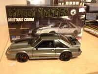 DIECAST 1/18 MUSTANG COBRA STREET FIGHTER FORM GMP.PRICE 250$
