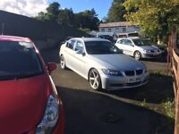 2007 bmw 320d only 77k miles upgraded 18 ins alloys lovely tight car to drive