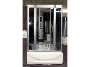 Small steam shower enclosure & acupuncture message,heater