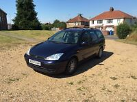 Ford Focus estate ,full 12 months mot,history ,cambelt recently done,2 owners