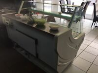 COMMERCIAL DISPLAY COUNTER FRIDGE