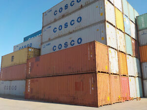 SEA CONTAINERS 40' HIGH CUBE USED